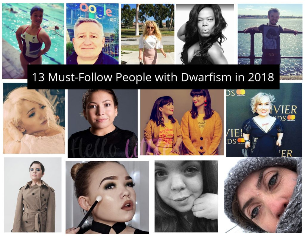 13 must-follow people with Dwarfism in 2018