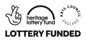 FUNDER LOGO - National Heritage Lottery Fund and Arts Council England logos