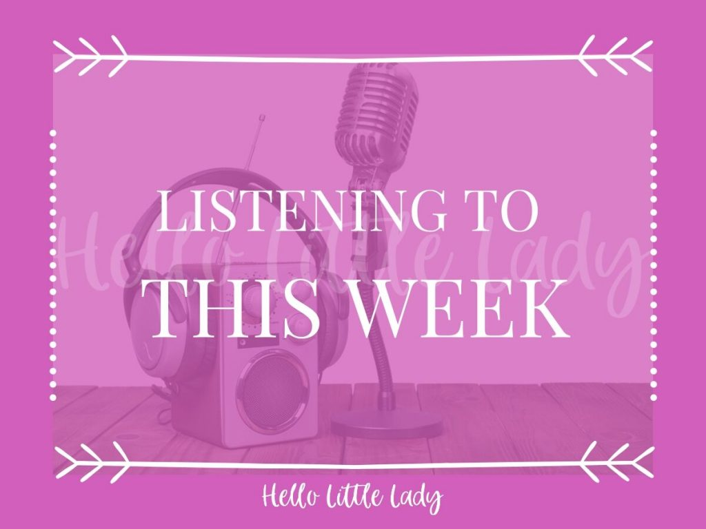 Listening to this week - graphic