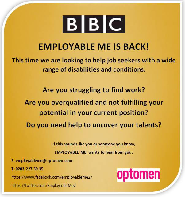 BBC Employable Me - TV Request