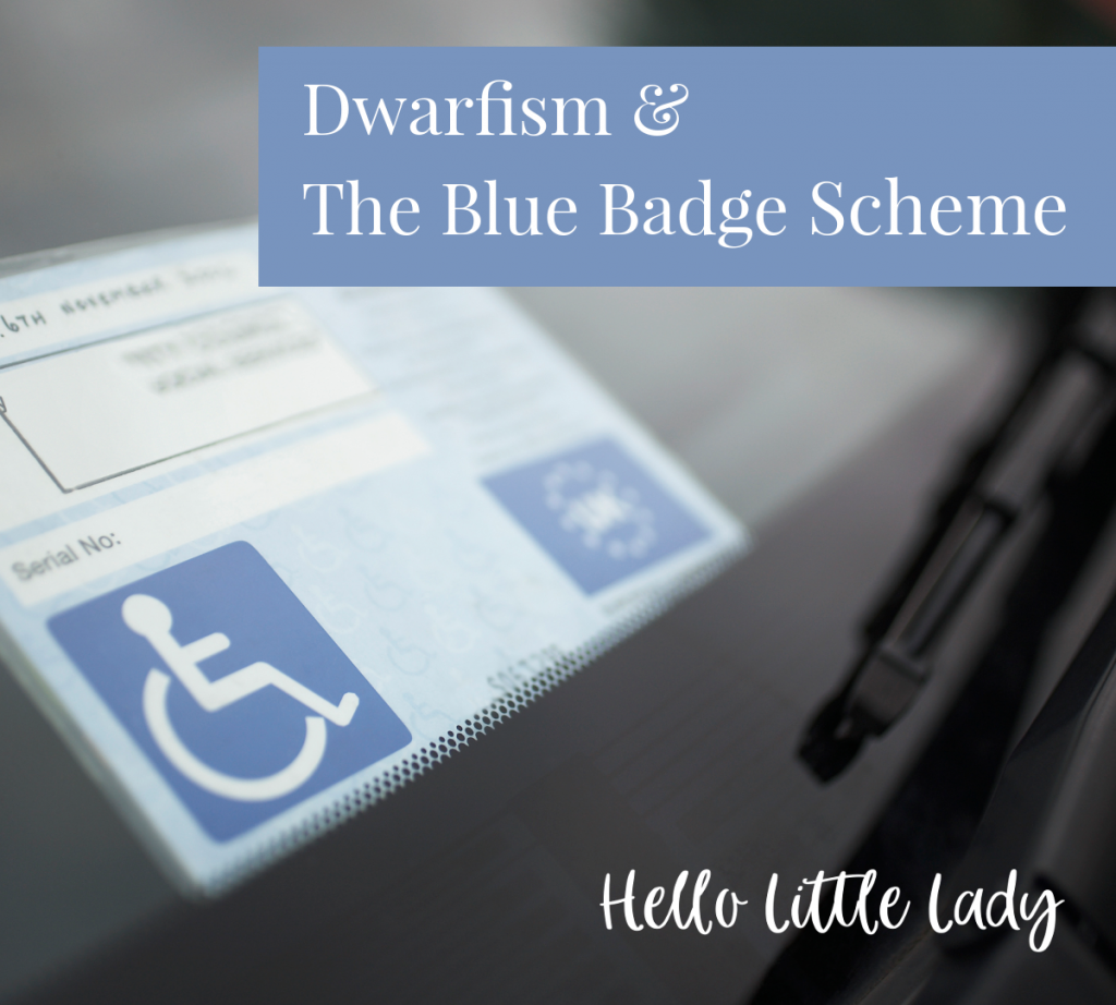 Dwarfism and the Blue Badge Scheme