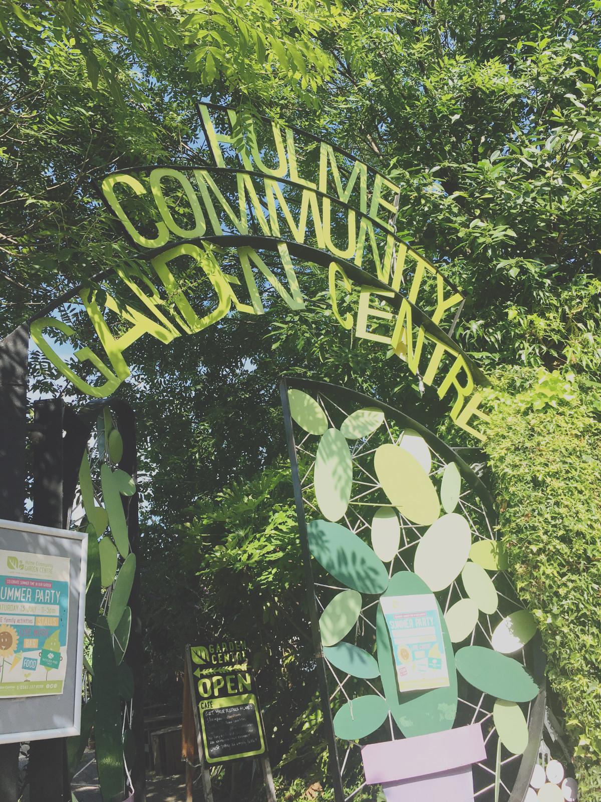 Hulme Community Garden Centre Union19 Manchester