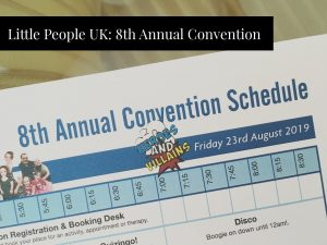 Little People UK 8th Convention at Nottingham Belfry Hotel