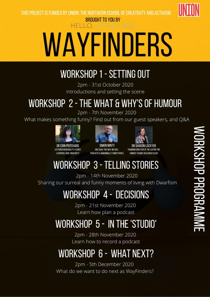 Wayfinders workshop programme - leaflet